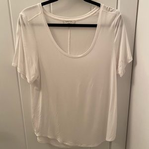 Babaton 'SAMI' T-Shirt in White
